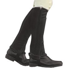 Dublin Childs Original Fit Half Chaps: Brown: Childs Small