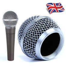 Replacement Mesh Microphone Head Ball Grill for Shure SM58  AKG  Sennheiser etc