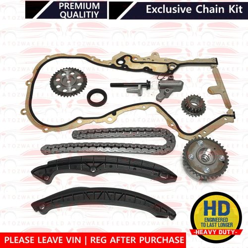 For VW Tiguan 1.4 TSI 2007> Petrol Engine Timing Chain Gear Tensioner Gasket Kit