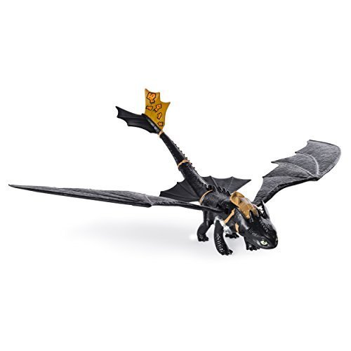 Dreamworks Dragons: Race to the Edge - Action Dragon Figure - Wing Flapping Toothless