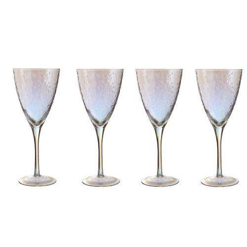 Set Of 4 Aurora Wine Glasses, 337 ml