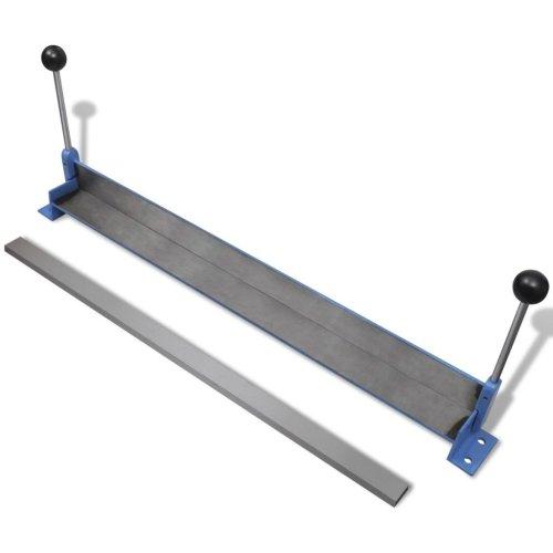 vidaXL Manually Operated Steel Plate Folding Machine 760mm Workshop Folder