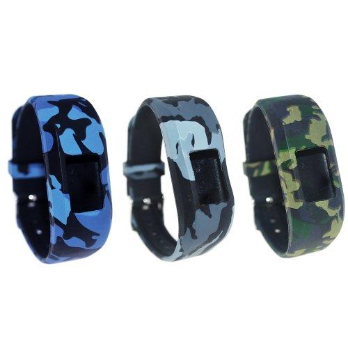 Chofit Vivofit JR 2 / Vivofit JR/Vivofit 3 Straps Replacement, Large Size Silicone Bands Wristband Bracelet for Garmin Vivofit JR 2 / Vivofit...