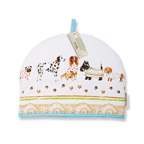 Cooksmart Tea Cosy Teapot Cover Warmer Cotton Insulated, Best in Show