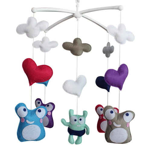 Baby Dream Musical Mobile, Colorful Baby Gift, [Funny Facial Expression]