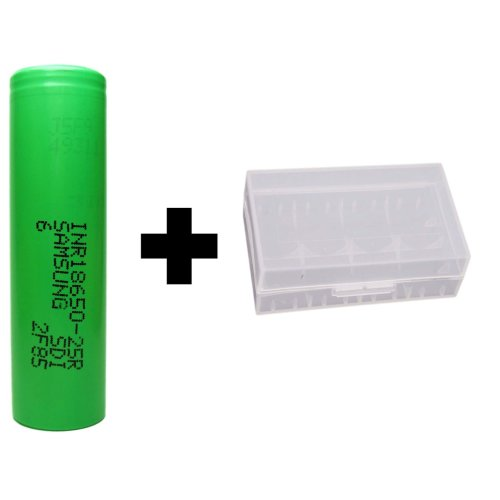 Samsung 18650 25R 2500mA 3.7V Rechargeable Battery