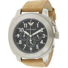Emporio Armani Leather Mens Watch AR6060