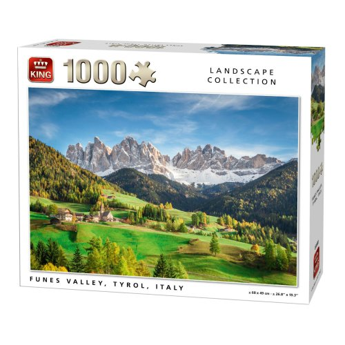 LANDSCAPE COLLECTION 1000 PCS ITALY VALLEY PUZZLE