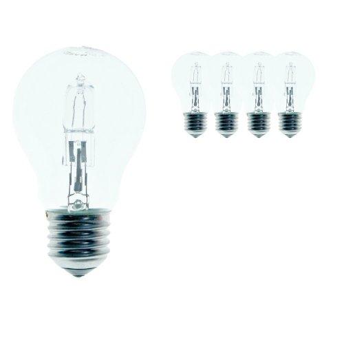 Osram Halogen Classic A ECO 64543 Energy-Saving Light Bulb Pack of 5