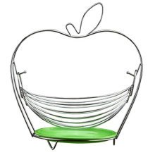 Apple Shaped Home Basics Scroll Collection Creative Fruit Basket