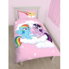 My Little Pony Equestria Single Duvet Cover Set Polycotton