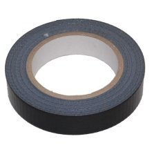 25mm Black Cloth Tape (Gaffer Tape)