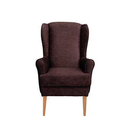 MAWCARE Darcy Orthopaedic High Seat Chair - 21 x 21 Inches [Height x Width] in Darcy Mocha (lc21-Darcy_d)