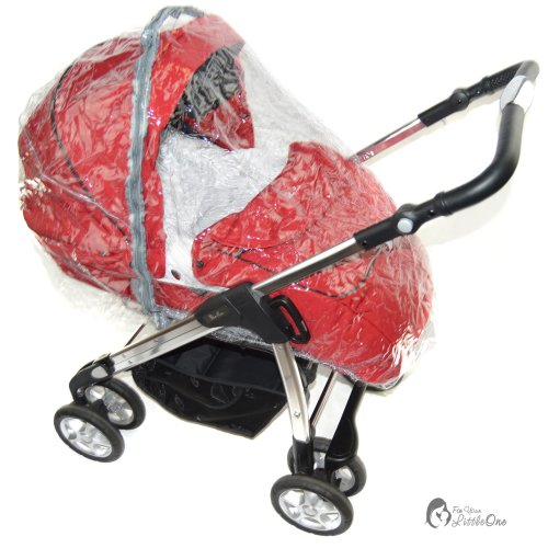 Raincover Compatible with Silver Cross Freeway Combination Carrycot / Pushchair