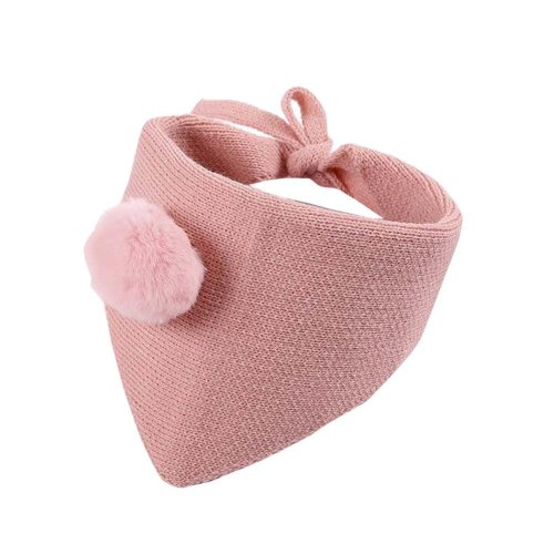 Lovely Warm Winter Scarf Kids Neck Warmer-Pink