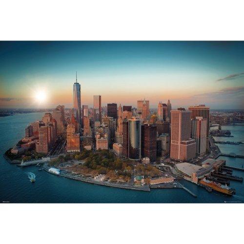 New York Freedom Tower Manhattan Maxi Poster