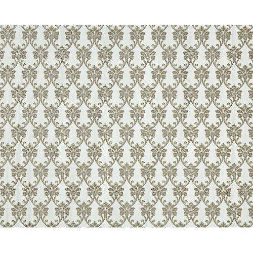EDEM 656-95 nonwoven baroque wallpaper XXL fabric look green gold cream 10.65 m2