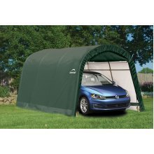 10x15 Shelter Logic Round Top Auto Shelter