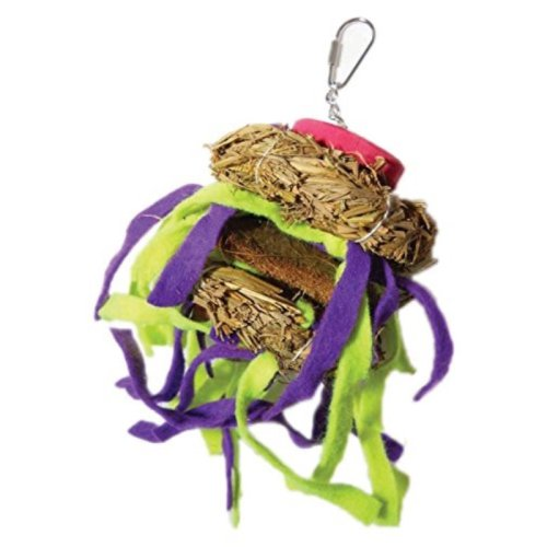 A&E CAGE COMPANY HB46612 Java Wood Tickles Assorted Bird Toy, Medium
