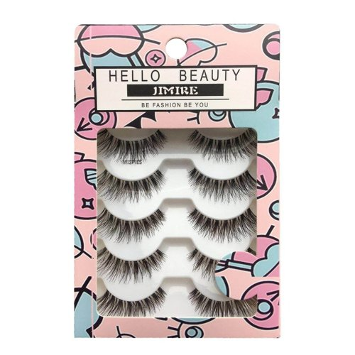 JIMIRE HELLO BEAUTY Multipack Demi Wispies False Eyelashes