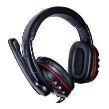 Dynamode MX-878 USB Headset, Adjustable Boom Microphone, Inline Volume Control