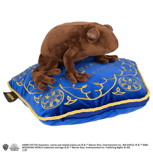 The Noble Collection Chocolate Frog Plush & Pillow
