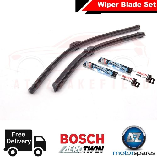 2X WINDSCREEN WIPER BLADES (PAIR) 3397118955 BOSCH SET A955S QUALITY REPLACEMENT