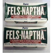 Fels Naptha Laundry Soap Bar  5.5 oz  2 pk
