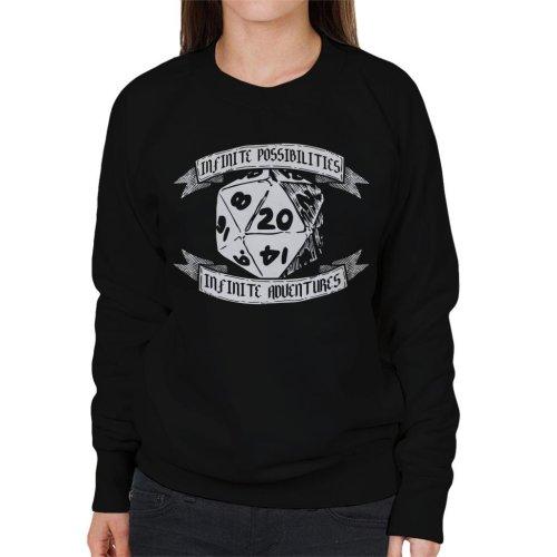 Infinite Possibilities Infinite Adventure Women's Sweatshirt