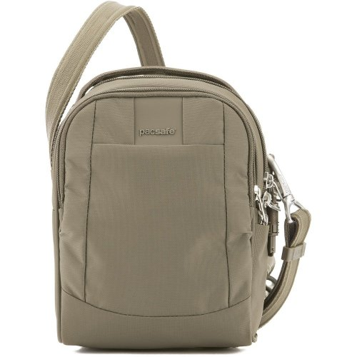 Pacsafe Metrosafe LS100 Anti Theft Crossbody Bag (Earth Khaki)