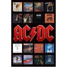 Ac/dc (album Covers) - 61 x 91cm Acdc Album Covers Poster Album Covers Poster -  61 x 91 cm acdc album covers poster AC/DC Album Covers Poster Wall