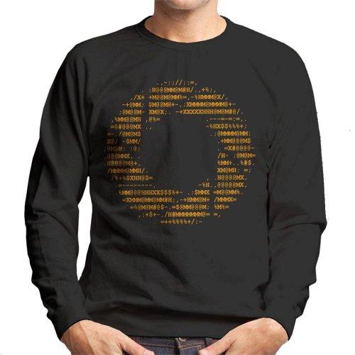 Aperture Science Letters Logo Light Text Men's Sweatshirt