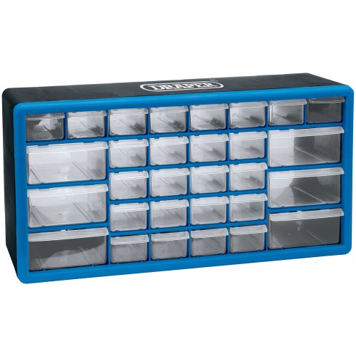 Draper 30 Part Organiser Cabinet - Drawer 12015 Storage -  draper organiser 30 drawer 12015 cabinet storage