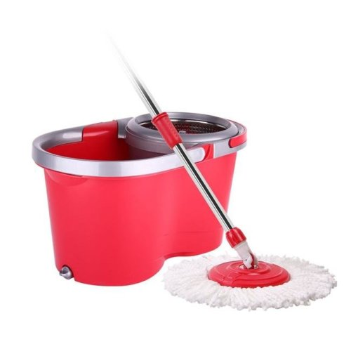 Arevo ARV-1003 Twirl Wet Spin Mop & Bucket System for Floor Cleaning