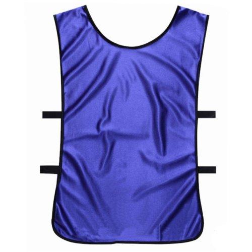 Set of 6 Basketball/Soccer Training/Scrimmage Vests Basketball Jersey, NAVY