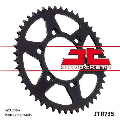 37 tooth steel JT rear sprocket Ducati Monster Supersport 851 888 907