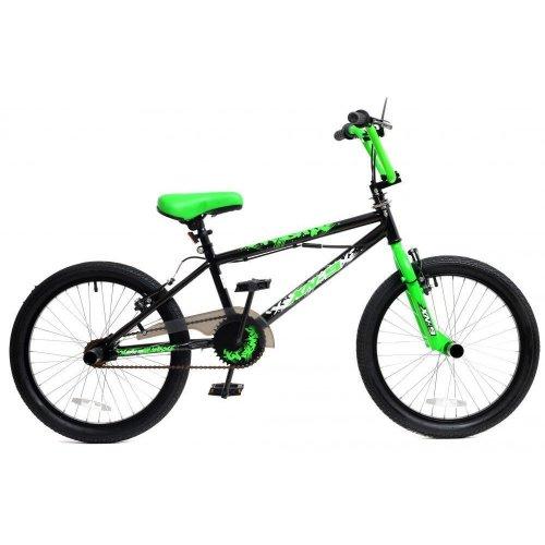 "XN-9-20 BMX Bike Mens Boys Kids Freestyle BMX 20"" Wheel Gyro 360 Stunt Pegs"