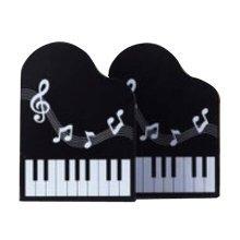 Cartoon Iron Bookcase Creative Thicker Baffle-Piano Black