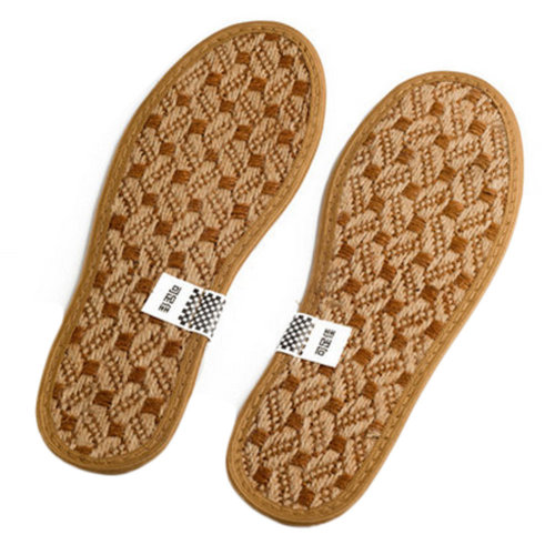 Premium Natural Bamboo Cushion Insole Sport Deodorant Insoles, 2 Pair B