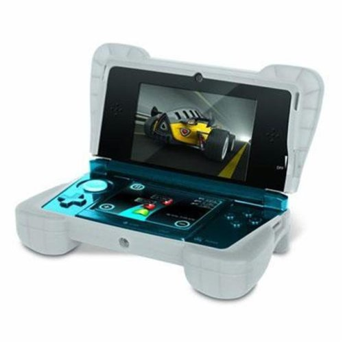 DreamGear DG3DS-4218 Portable Gaming Console Skin - Clear