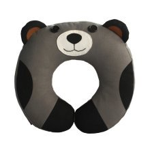Durable Handmade Neck Pillow Canvas U-shaped Travel Pillow [Happy Panda]