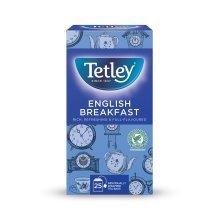 Tetley English Breakfast Enveloped 25