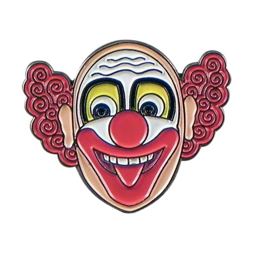 Circus Clown Metal Enamel Lapel Pin Badge