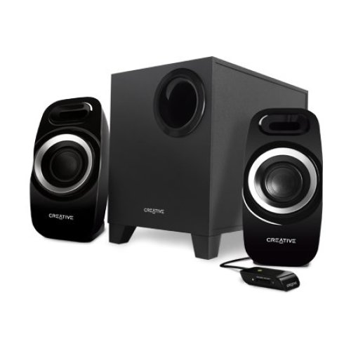 Creative Labs Inspire T3300 2.1channels 27W Black speaker set