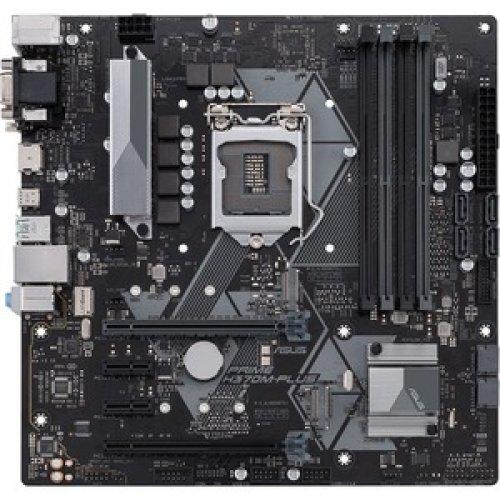 Asus Prime H370M-Plus Desktop Motherboard Intel Chipset Socket H4 Lga-1151 90MB0WC0-M0EAY0