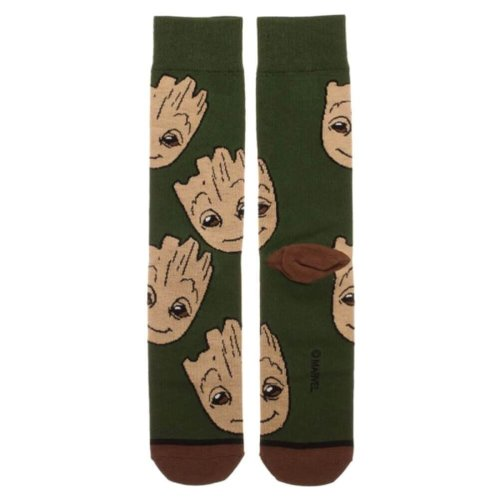 Guardians of the Galaxy Baby Groot Character Crew Socks