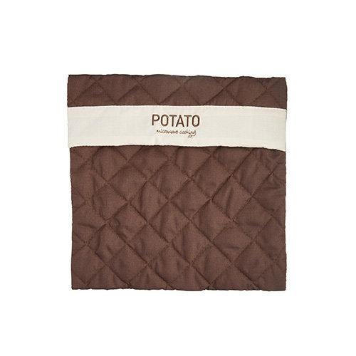 Kitchen Craft Microwave Potato Bag, Brown