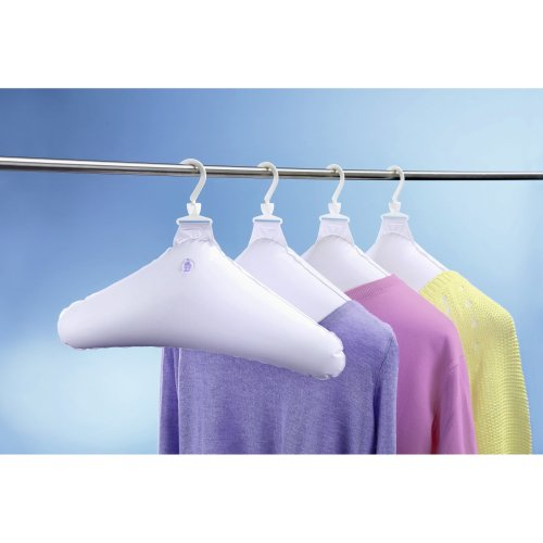 UPP Products Inflatable Coat Hangers Pack of 4White