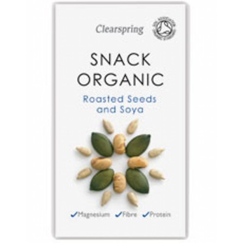 Clearspring Snack Organic Roasted Seeds & Soya 35g
