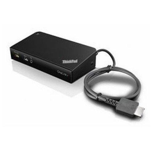 Lenovo 40A40090IT Black notebook dock/port replicator